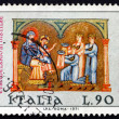 Postage stamp Italy 1971 Adoration of the Kings, Christmas — Stock Photo
