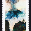 Postage stamp Russia 1965 Karymsky Erupting, Volcano — Stock Photo