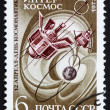 Postage stamp Russia 1973 Earth Satellite Interkosmos — Stock Photo #26316415