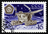 Postage stamp Russia 1971 Lunokhod 1 in Operation — Stock Photo