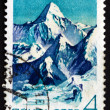 Postage stamp Russia 1964 Khan Tengri, Mountain, Tian Shan — Stock Photo