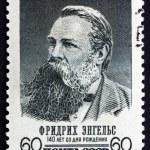 Постер, плакат: Postage stamp Russia 1960 Friedrich Engels