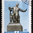 Postage stamp Russia 1959 Statue of Pyotr Ilych Tchaikovsky — Stock Photo