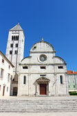 St. Mary's church, Zadar — Stock Photo