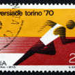 Postage stamp Italy 1970 Runner — Stock Photo