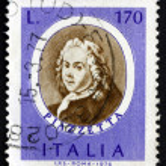 Постер, плакат: Postage stamp Italy 1971 Giovanni Piazzetta Rococo Painter