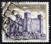 Château de sadaba timbre-poste espagne 1970, aragon — Photo