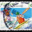 Postage stamp Australia 1994 Kayaking, Canoeing, Australian Spor — Stock Photo