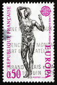 Postage stamp France 1974 Age of Bronze, Auguste Rodin — Stock Photo