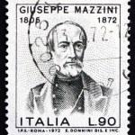 Постер, плакат: Postage stamp Italy 1972 Giuseppe Mazzini Patriot