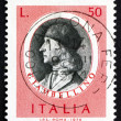 Постер, плакат: Postage stamp Italy 1974 Giovanni Bellini Painter