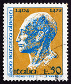 Postage stamp Italy 1972 Leon Battista Alberti, Architect — Stock Photo