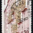 Postage stamp France 1973 shows Postal Museum — Stock Photo