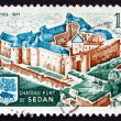 Postage stamp France 1971 Fort de Sedan, Sedan, Ardennes — Stock Photo #27357541