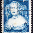 Stock Photo: Postage stamp France 1950 Marie de Rabutin-Chantal, Marquise