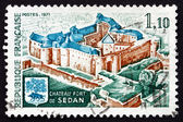 Postage stamp France 1971 Fort de Sedan, Sedan, Ardennes — Stock Photo