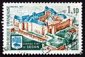 Postage stamp France 1971 Fort de Sedan, Sedan, Ardennes — Stock Photo
