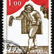 Постер, плакат: Postage stamp France 1973 Moliere as Sganarelle Playwright and