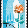 Postage stamp France 1975 Picardy and Rose, Region of France — Stock Photo