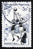 Postage stamp France 1956 Basketball, Team Sport — Stock Photo