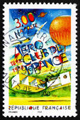 Postage stamp France 1998 Aero Club of France, Centenary — Stock Photo