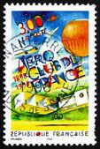 Postage stamp France 1998 Aero Club of France, Centenary — Stock Photo