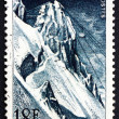 Postage stamp France 1956 Cable Railway to Pic du Midi — Stock Photo