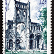 Postage stamp France 1954 Abbey Ruins, Jumieges — Stock Photo