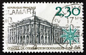 Postage stamp France 1983 Customs Cooperation Council — Stock Photo