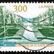 Postage stamp France 1997 Sceaux Estate, Hauts-de-Seine, Paris — Stock Photo #27716019
