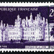 Postage stamp France 1952 Chateau de Chambord, Loir-et-Cher — Stock Photo #27716397