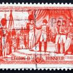 ������, ������: Postage stamp France 1954 Napoleon Awarding Legion of Honor Deco