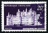 Postage stamp France 1952 Chateau de Chambord, Loir-et-Cher — Stock Photo