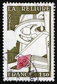 邮资邮票法国 1981年装订 — 图库照片