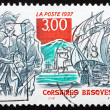 Постер, плакат: Postage stamp France 1997 Basque Corsairs