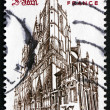 Postage stamp France 1981 Church of St. John the Baptist's, Lyon — Stock Photo