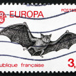 Stock Photo: Postage stamp France 1986 Bat, Chiroptera, Flying Mammal