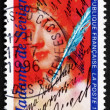 Stock Photo: Postage stamp France 1996 Marie de Rabutin-Chantal, Marquise