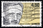 Postage stamp France 1998 Henri Collet, French Composer — Stock Photo