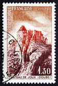 Postage stamp France 1965 Joux Chateau, Doubs — Stock Photo