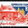 Postage stamp France 1982 Collonges-la-Rouge, Correze — Stock Photo