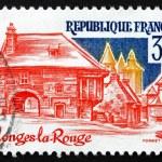 Postage stamp France 1982 Collonges-la-Rouge, Correze — Stock Photo #27955561
