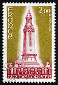 Postage stamp France 1978 shows World War I Memorial near Lens — Stock fotografie