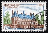 Postage stamp Château de sully de france 1981, rosny-sur-seine — Photo