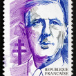 Postage stamp France 1990 Charles de Gaulle, Statesman, Presiden — Stock Photo #28084889