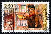 Postage stamp France 1994 Laurent Mourguet, Creator of Puppet, G — Stock Photo
