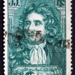 ������, ������: Postage stamp France 1938 Jean de La Fontaine Fabulist and Poet