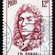 Stock Photo: Postage stamp France 1956 JeBaptiste Lully, Composer