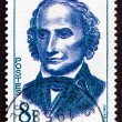 Stock Photo: Postage stamp France 1958 Joseph Louis Lagrange, Mathematician