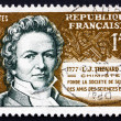 Stockfoto: Postage stamp France 1957 Louis Jacques Thenard, Chemist